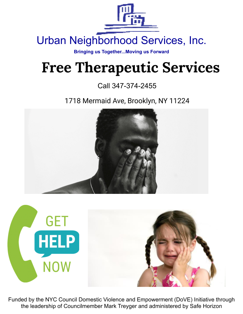 Free Therapeutic Services poster